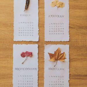 Calendario botanico 2021